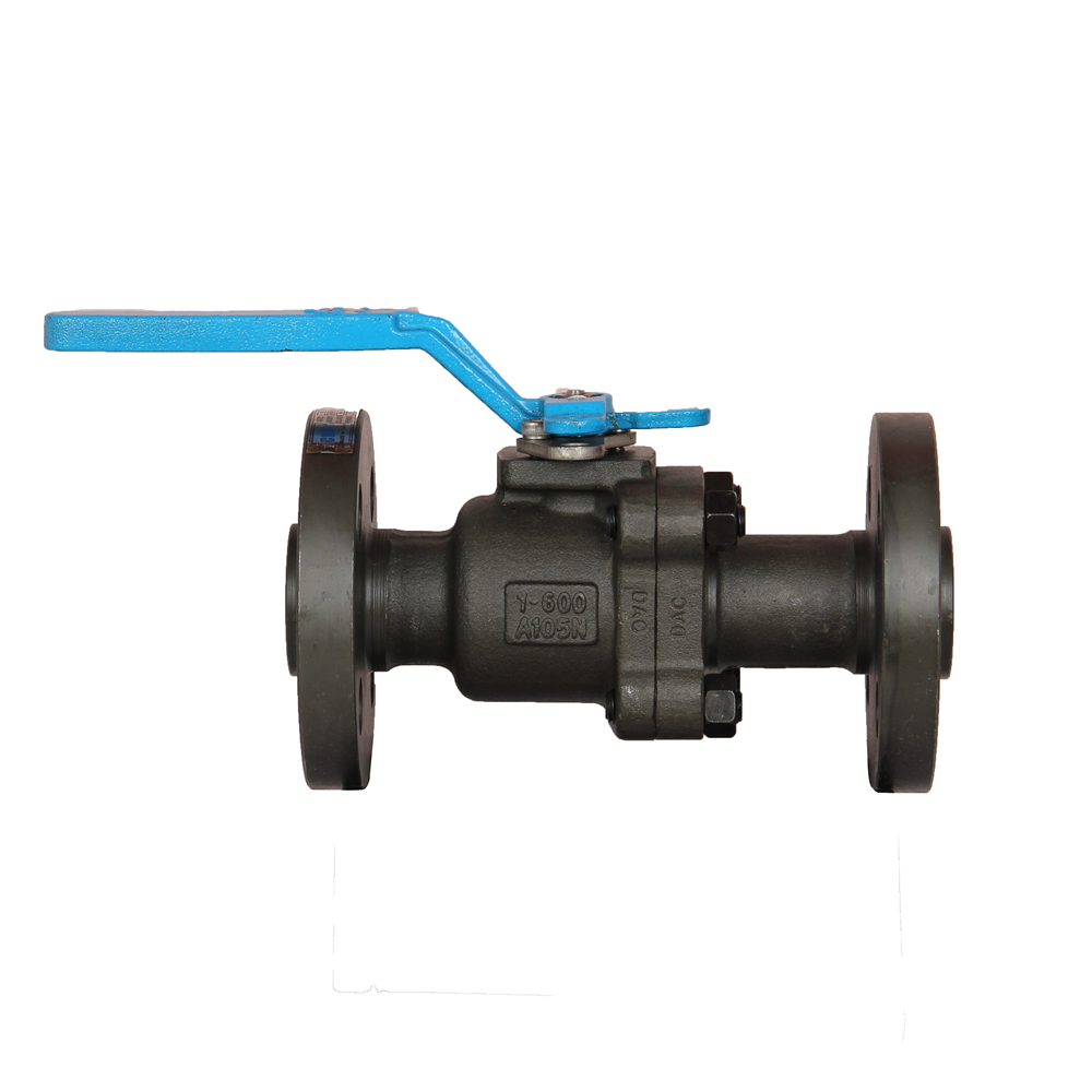 Flanged Plate Type Ball Valve